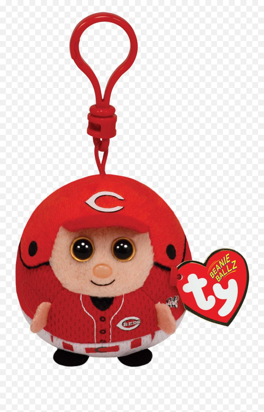 Cincinnati Reds - Mlb Clip Beanie Baby Png,Cincinnati Reds Logo Png