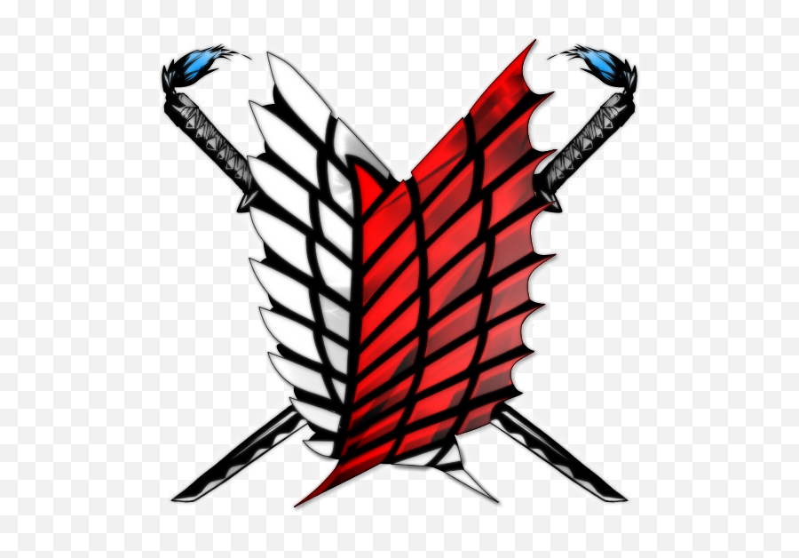 Attack - Attack On Titan Scout Logo png