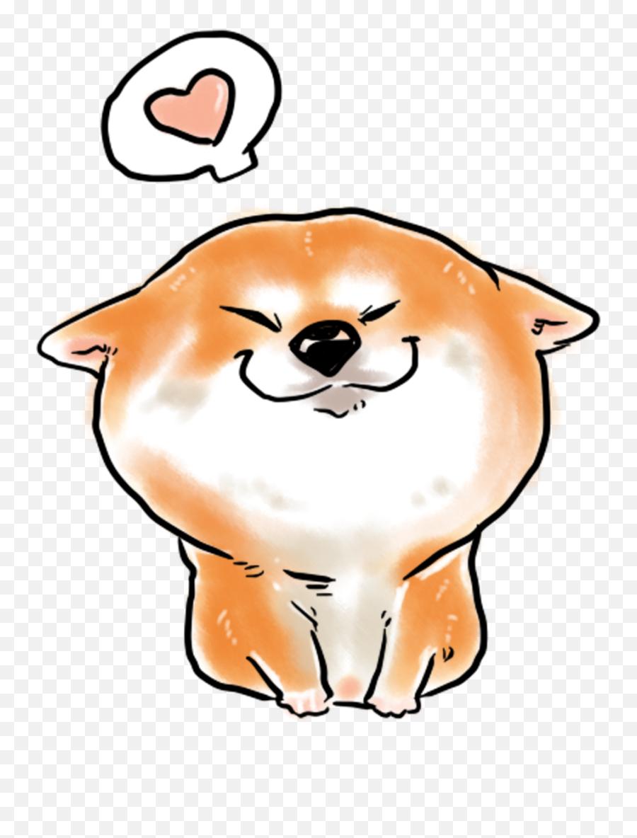 Cute Animal Shiba Inu Cartoon Png And