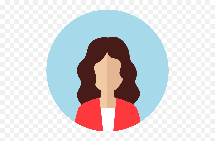 Business Girl User Woman Profile Avatar People Icon - Female Profile Picture Icon png