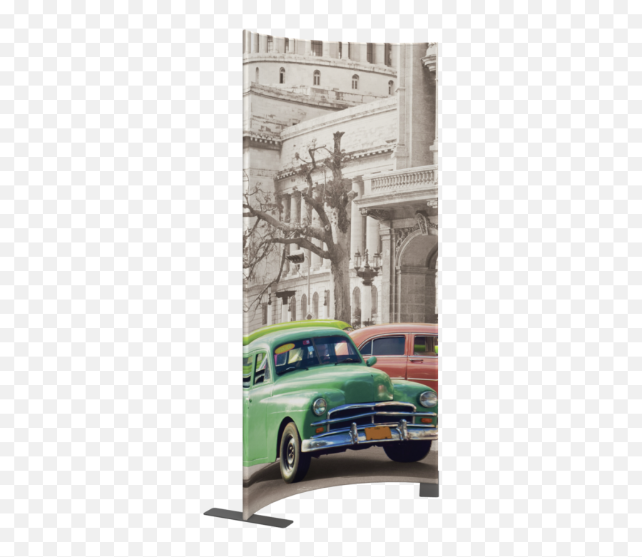 Modulate 4x8ft Modular Display Stand 06 Curved Graphic - Poster Png,Vintage Banner Png