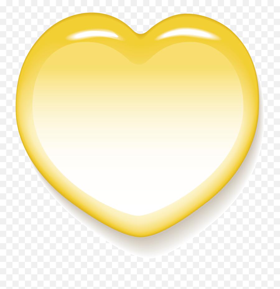 Big Yellow Heart - Heart Png,Yellow Heart Png