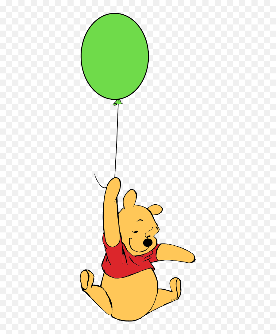 Classic Winnie The Pooh And Piglet - Balloon Winnie The Pooh Clipart Png,Winnie The Pooh Transparent Background