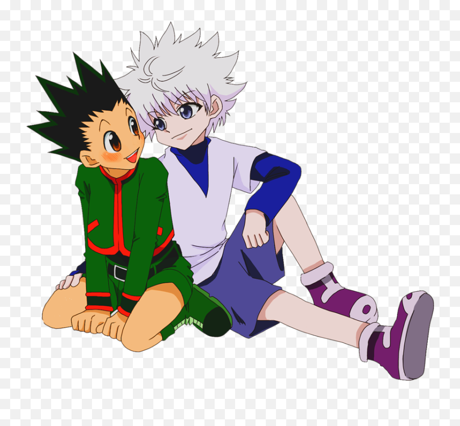 Killua Cute Transparent Png Clipart - Killua And Gon Png
