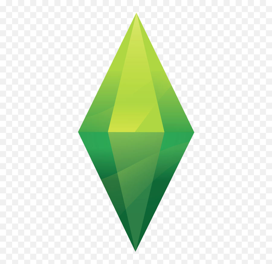 Sims Triangle Green Free Photo Png - Sims 4 Plumbob Png