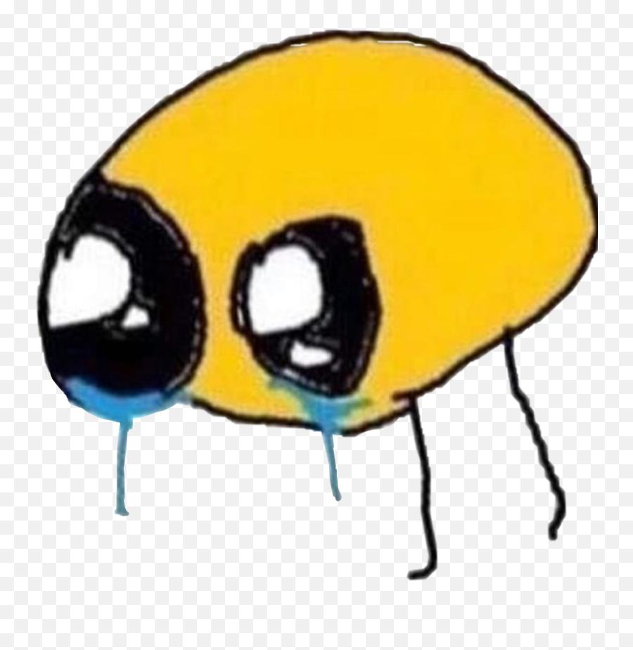 Cursed Crying Emoji Cursedemoji Meme Sad - Crying Cursed Emoji Meme png