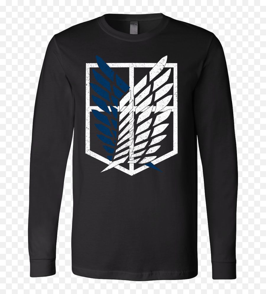 Attack - survey corps logo  Unisex Long Sleeve T Shirt  TL01192LS  Phone Attack On Titan png