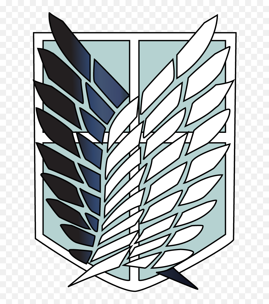Download Hd Survey Corp Logo - Attack On Titans Stickers  Attack On Titan Logo png