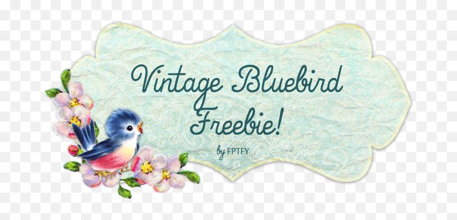 Vintage Bluebird Png U0026 Free Bluebirdpng Transparent - Happy Friday Vintage,Vintage Banner Png