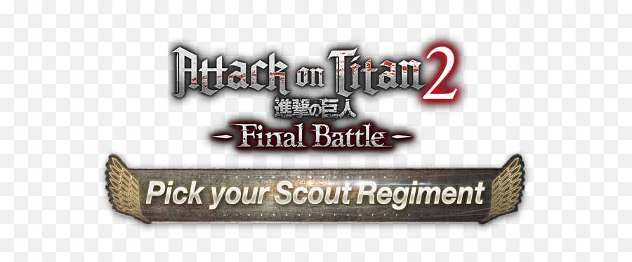 Pick Your Scout Regiment From The Game Attack - Graphics png