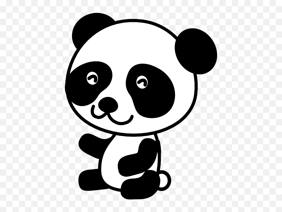 Baby Panda Transparent Background Png Arts - Panda Clipart,Panda Cartoon Png