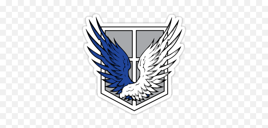 If The Survey Corp Logo Is Real Wings Kyojin Pegatinas - Royal Australian Survey Corps png