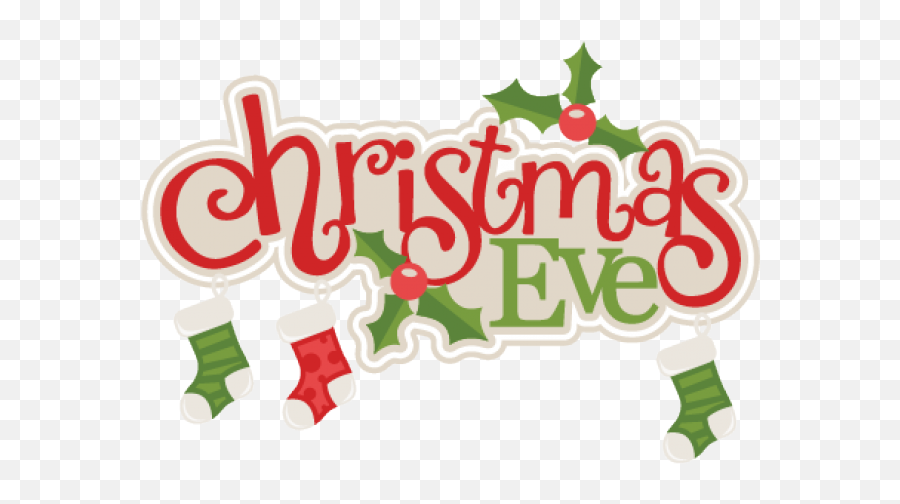 Christmas Banner Png Free Pic - Transparent Christmas Eve Png