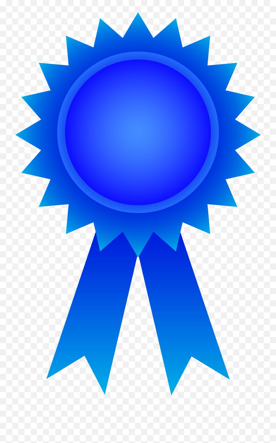 Blue Award Ribbon Png Clipart - Award Ribbon Png,Blue Ribbon Png