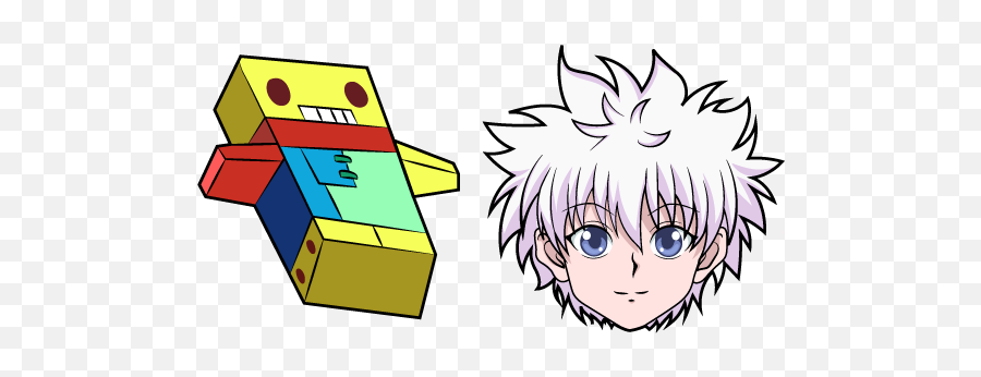 Hunter X Killua Zoldyck Cursor - Cartoon png