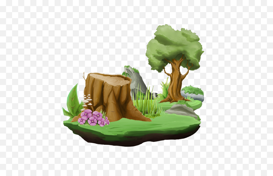 Download Hd Cartoon Forest Png - 2d Forest Pack Free,The Forest Png