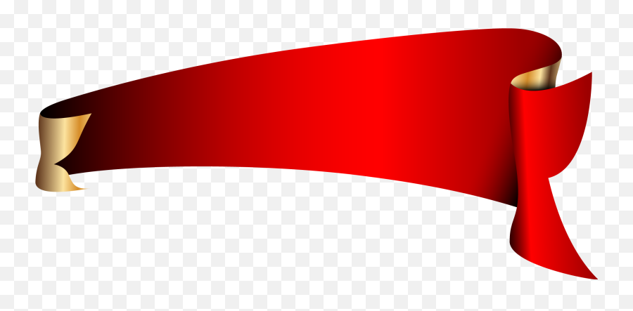 Roll Angle Vector Banner Png Download - Vector Banner Flag Png,Red Banner Png