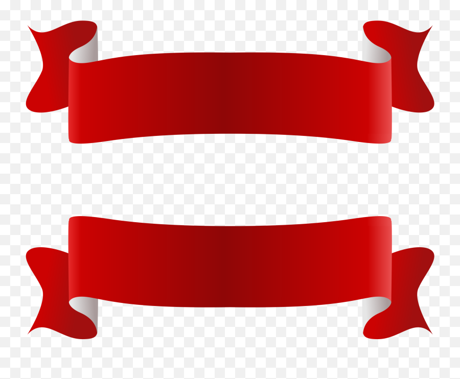 Transparent Ribbon Png Images Red - Ribbon Png,Red Banner Png