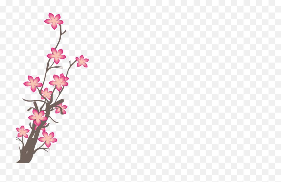 Sakura Pink Flowers Png Photo - Crape Myrtle