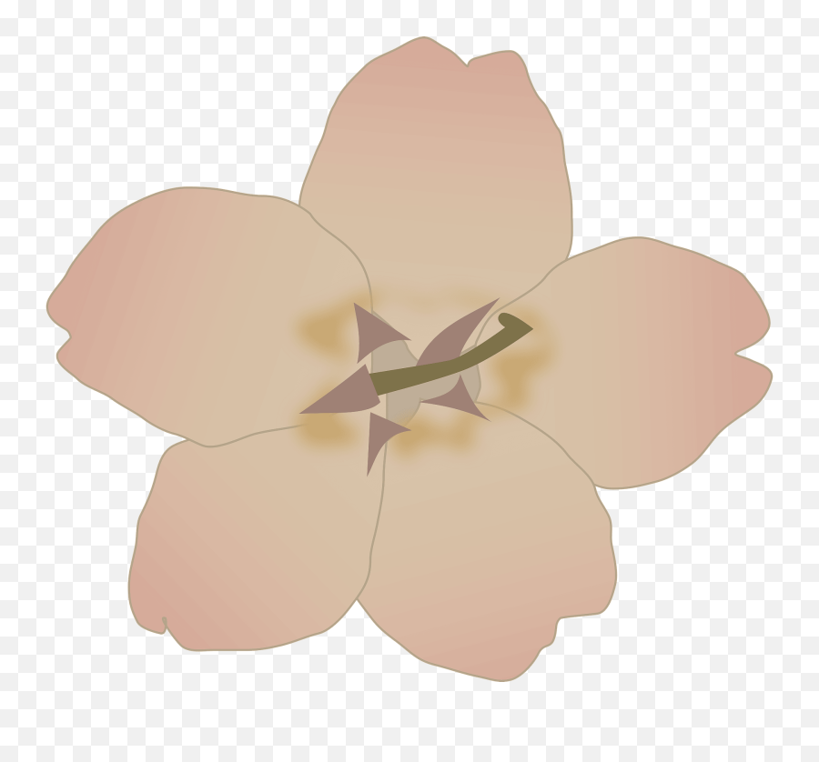 Petal Plant Flower Png Clipart - Purple Flower Clip Art