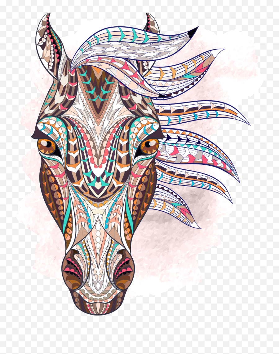Paso Collection Fino Dreamcatcher Geometric Horse Head Tattoo Png Free Transparent Png Images Pngaaa Com