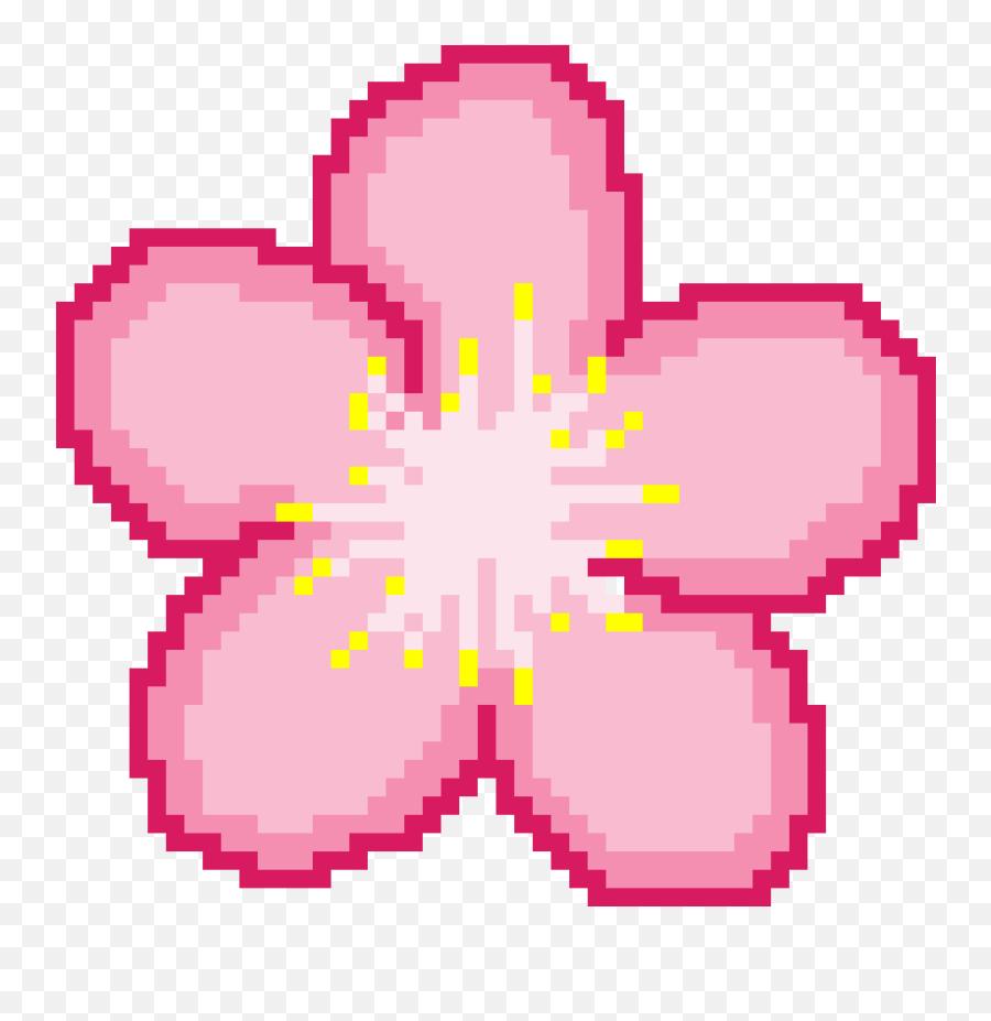 Sakura Flower Png - Sakura Flower Pixel Art