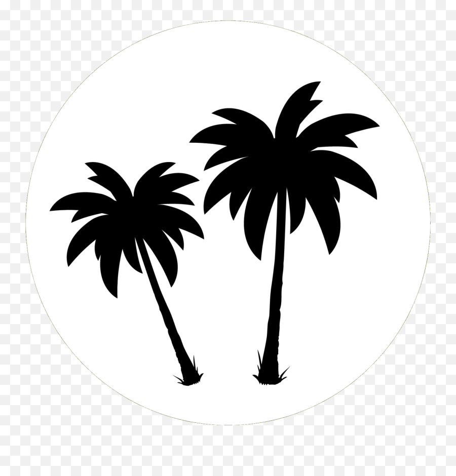 Palm Trees Clip Art Black White Png Tree Free Transparent Png Images Pngaaa Com