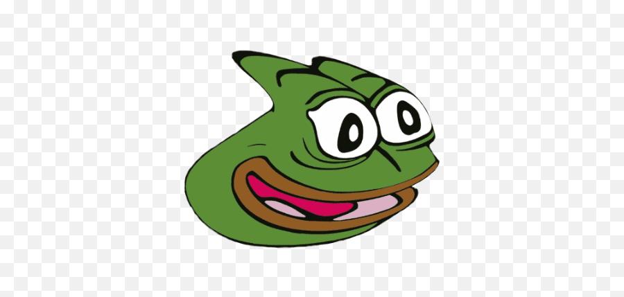 Pepe Pog Emoji - Twitch Emotes Pepega png