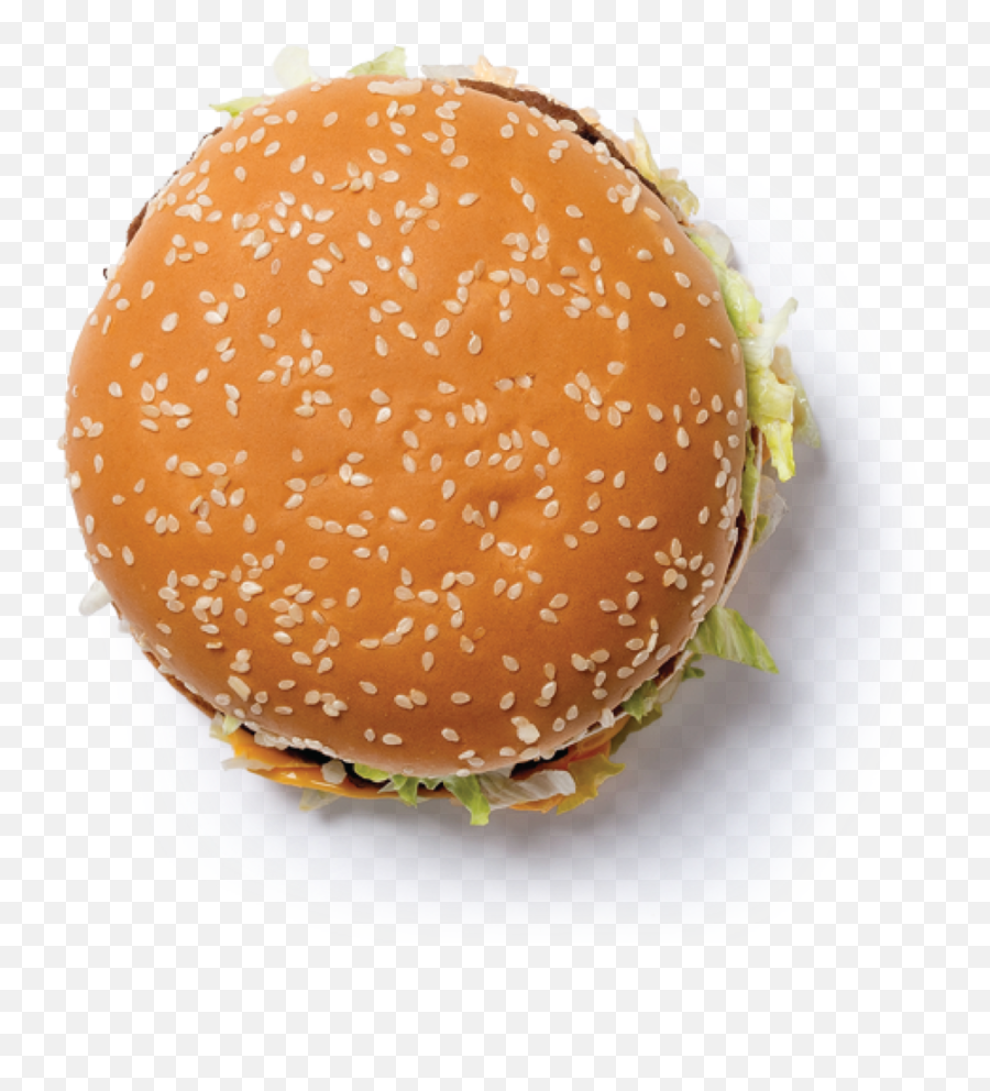 The Amaze - Burger Top View Png