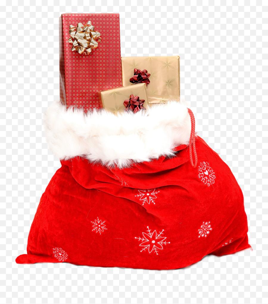 Christmas Sack With Gifts Png Image - Christmas Gift Png