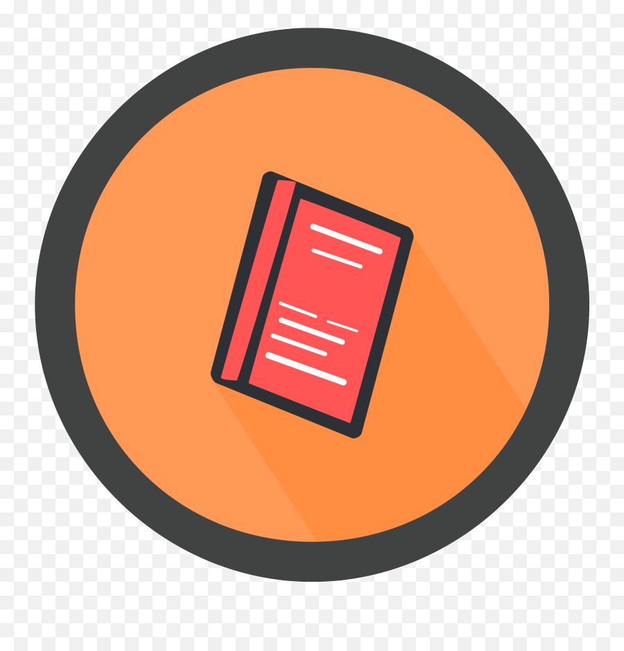 Book Icon Clipart - Circle png