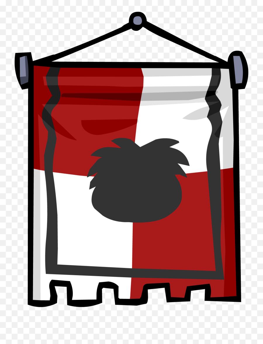 Ye Olde Red Banner Club Penguin Online Wiki Fandom - Club Penguin Ye Olde Banner Png,Red Banner Png