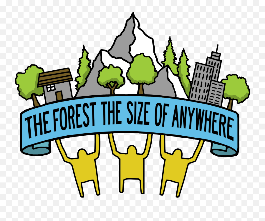 Download Hd The Forest Size Of Anywhere Logo - Cartoon Clip Art Png,The Forest Png