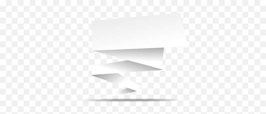 Transparent Png Svg Vector File - White Origami Banner Png,White Banner Png