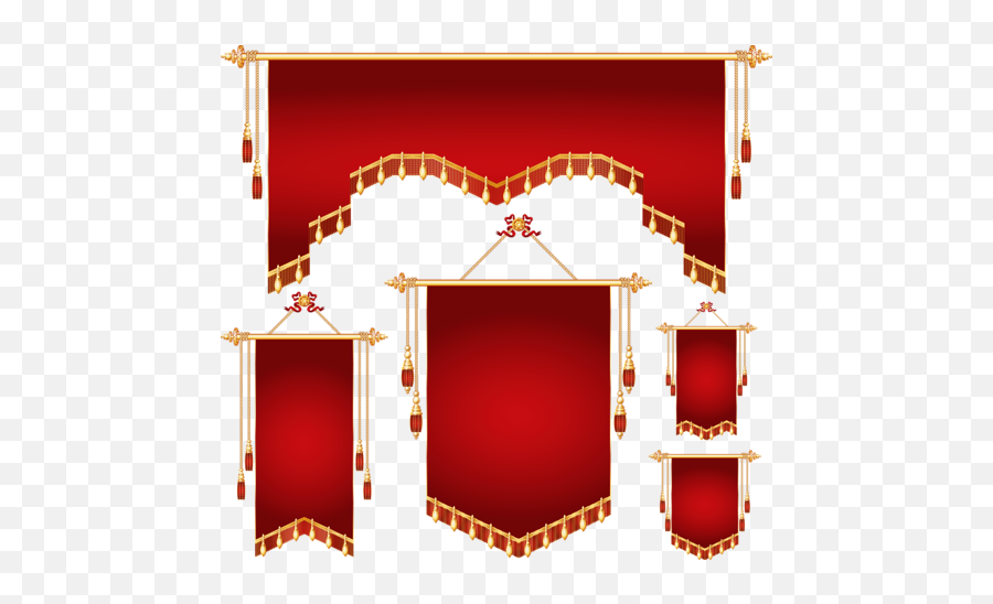 Red Banner Transparent Images Png Arts - Clipart Banner Shapes Png,Red Banner Png