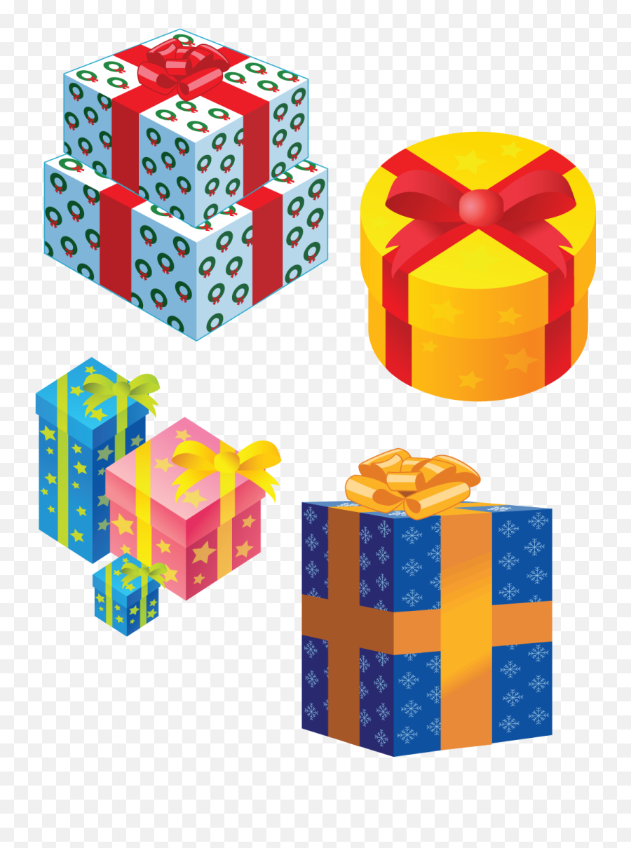 Gifts Png Images Free Download - Christmas