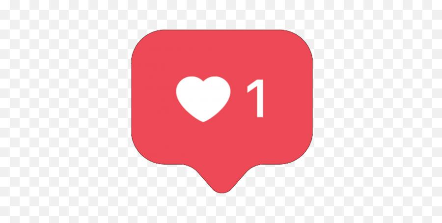 Instagram Heart Free Png Transparent - Instagram Like Icon Transparent