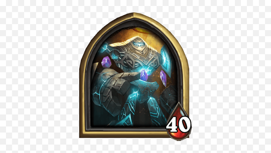 The Curator - Hearthstone Cards  Card Game Enthusiast  Curator Hearthstone png