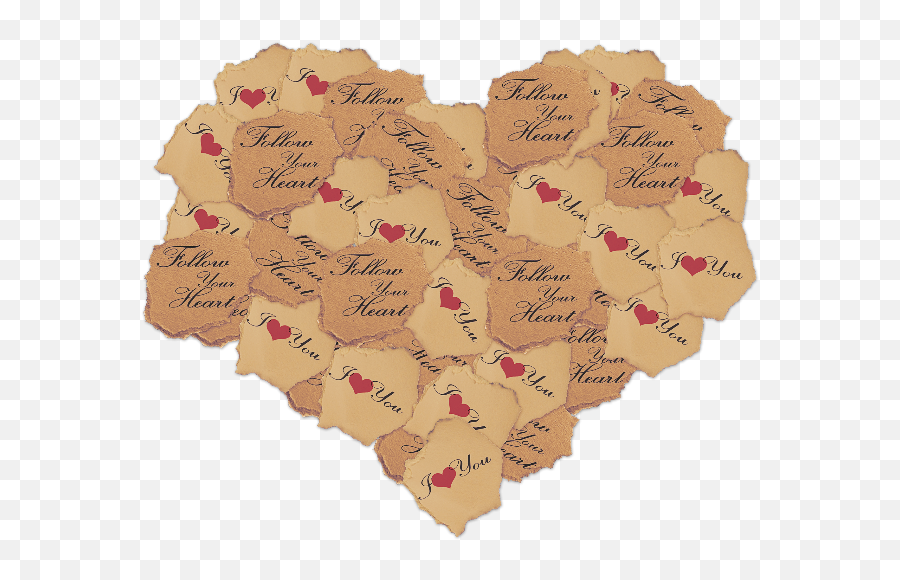 Torn Paper Heart Png Stock Photo - Paper Heart Png Transparent,Torn Paper Png