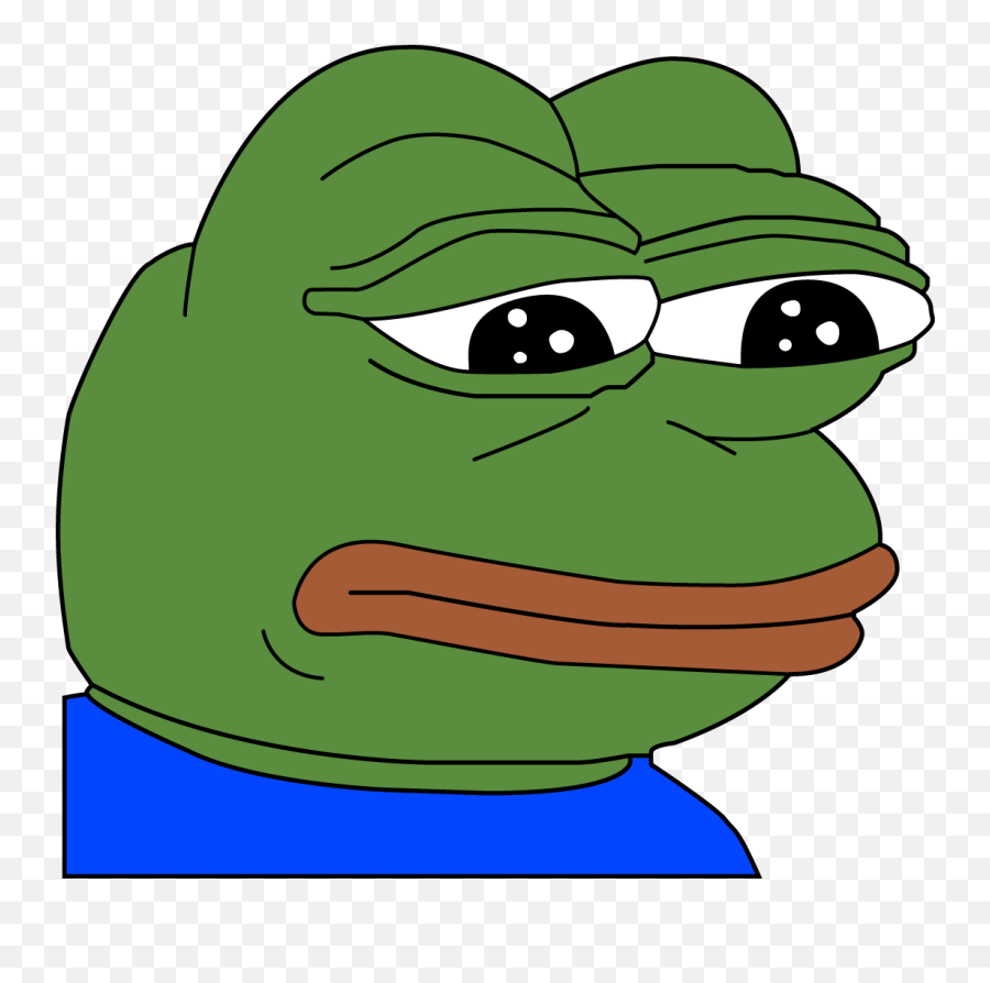 Sad Pepe Feelsbadman Transparent Png - Pepe The Frog Png