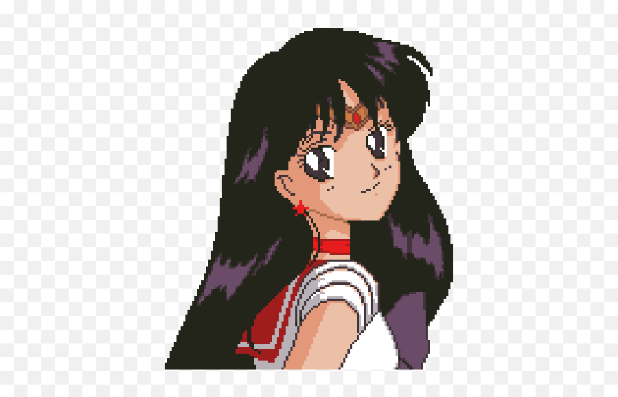 Red Anime Pixel Art Sailor Moon Pixel Anime Gif Png Free Transparent Png Images Pngaaa Com