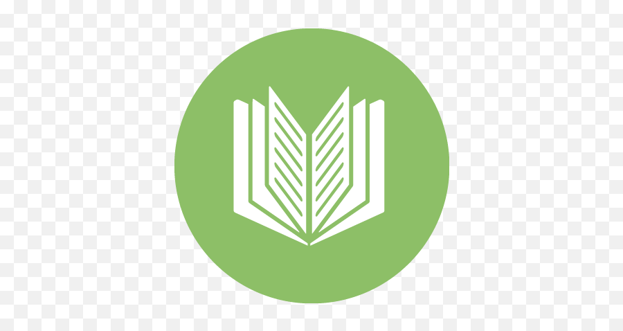 Download Hd Book Icon - Green Book Icon Transparent PNG  Circle