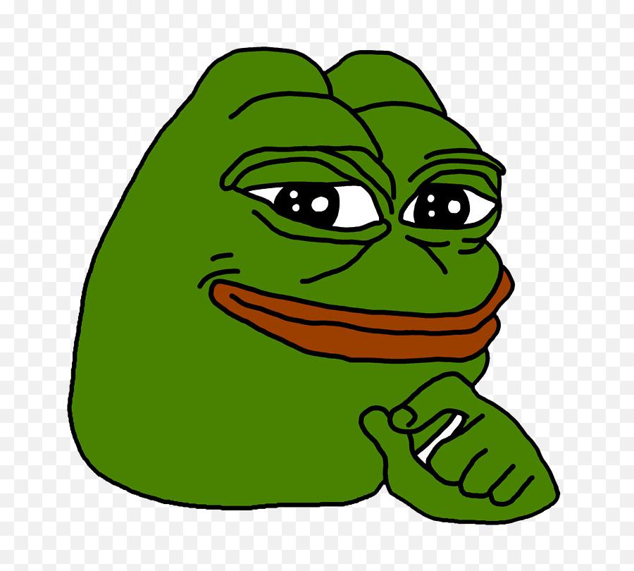 Smug Pepe Full Transparent Png - Frog Meme