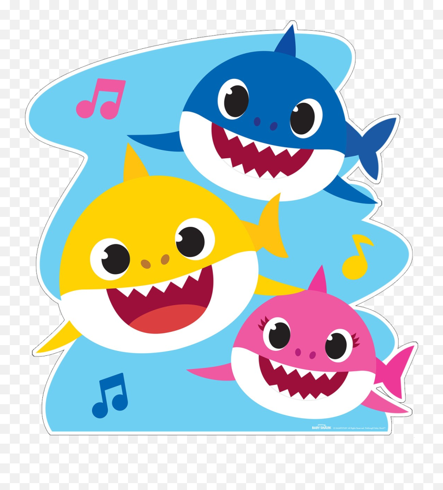 Baby Shark Png Images Free Download - Doo Doo Baby Shark