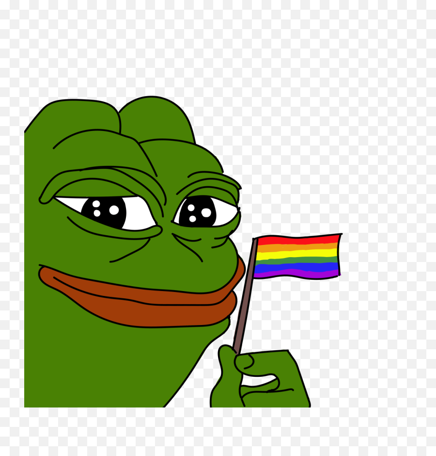 Pepe Pride Transparent Png - Pepe The Frog Lgbt