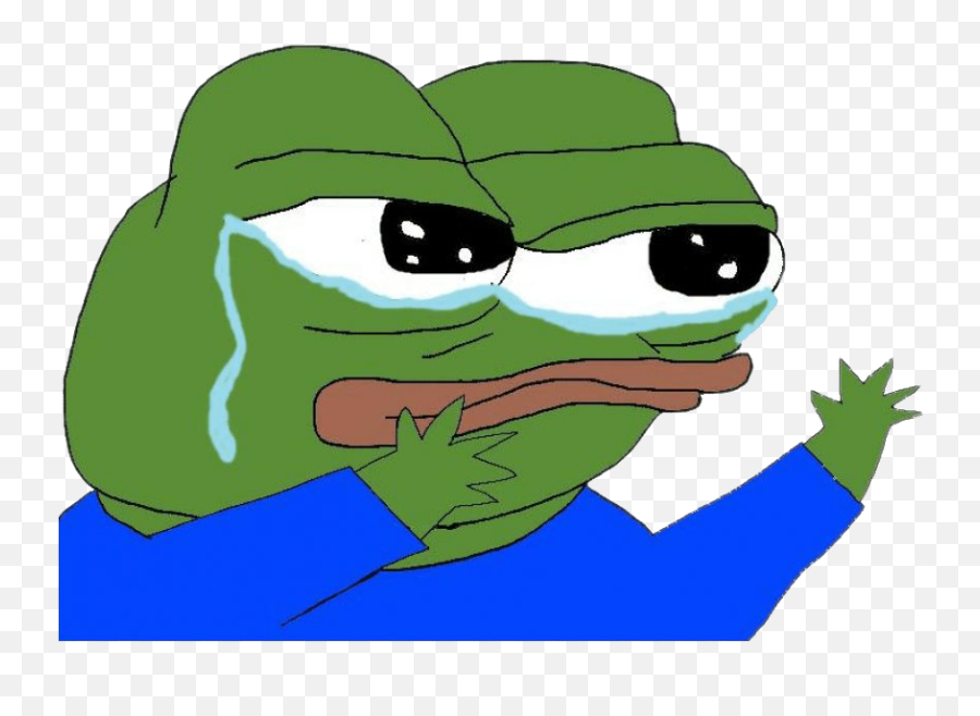 Sad Pepe The Frog Png Transparent - Transparent Sad Pepe