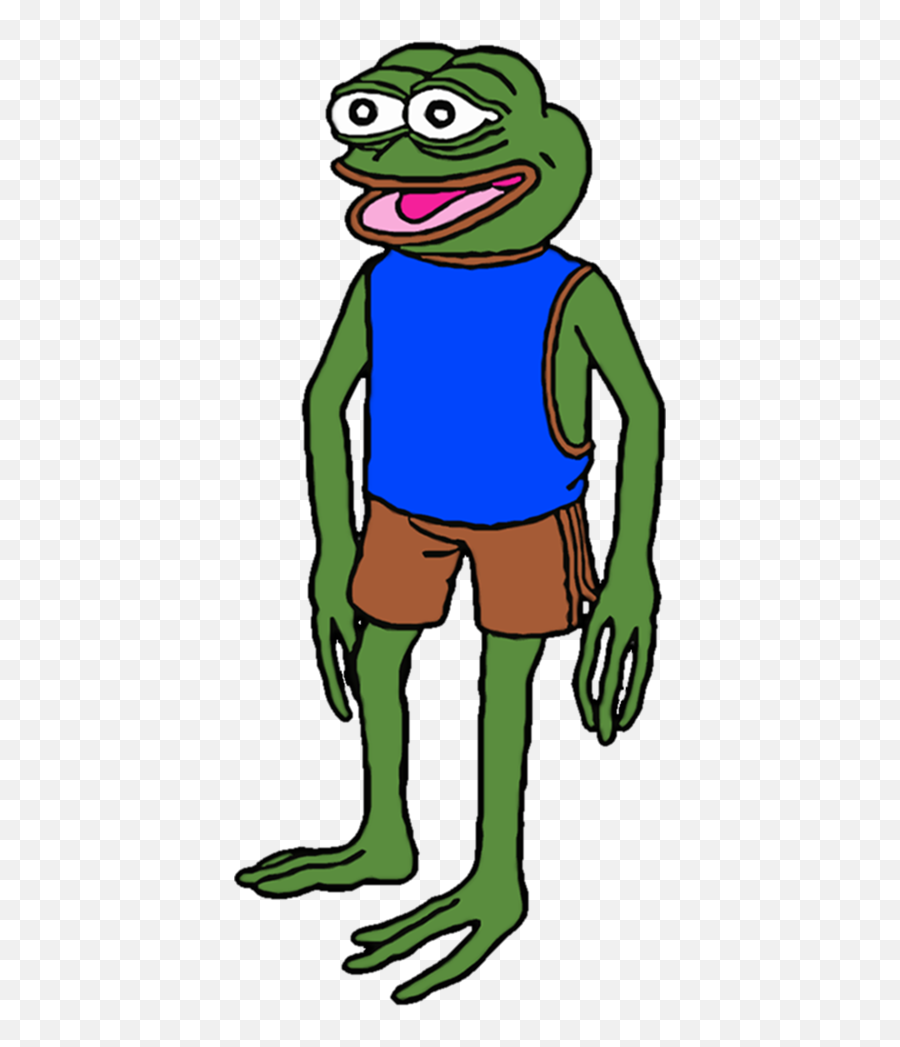Pepe The Frog - Pepe The Frog Full Body png