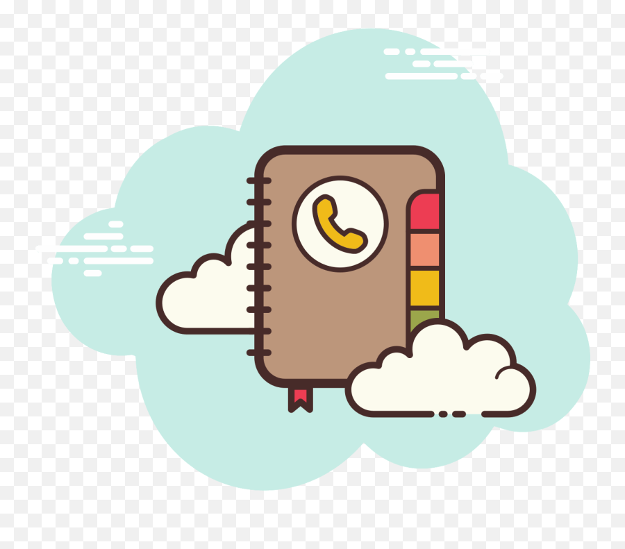 Password Book Icon - Free Download PNG and Vector  Cartoon