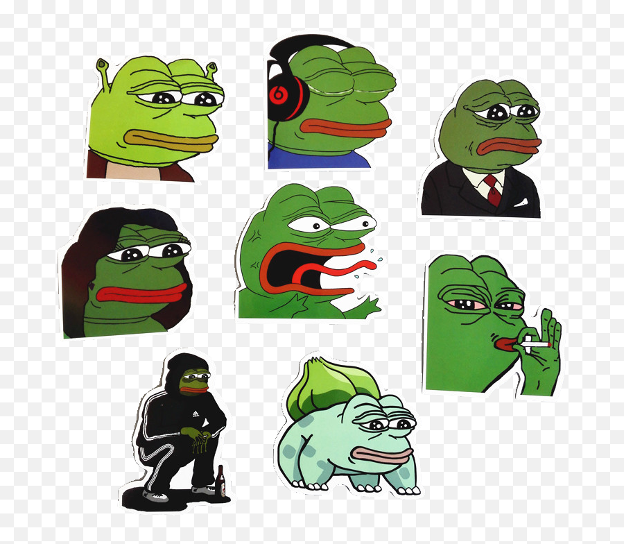 Pepe Frog Png Images Collection For - Free Stickers And Memes