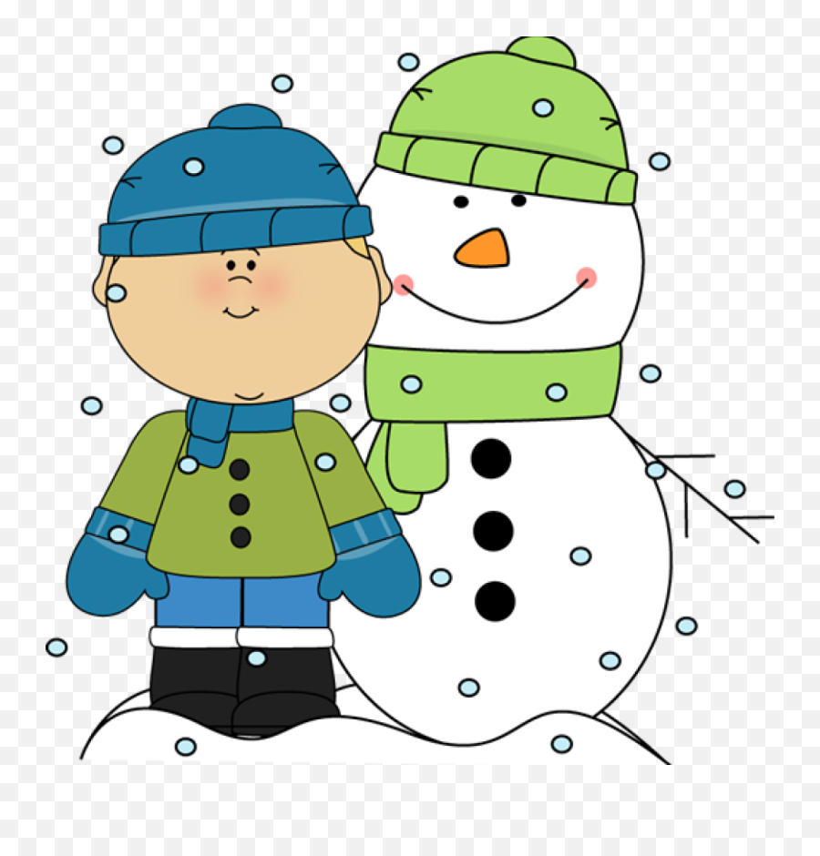 22 Falling Snow Backg Clipart Clipartlook - Kids In Snow Clip Art png